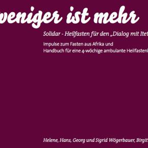 """Solidarfastenbuch """"Weniger ist mehr"""" - neue Auflage"""