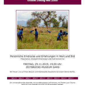 Unsere Reise nach Itete - Veranstaltung in Gars